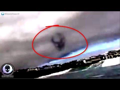 UFO sighting over Cornwall
