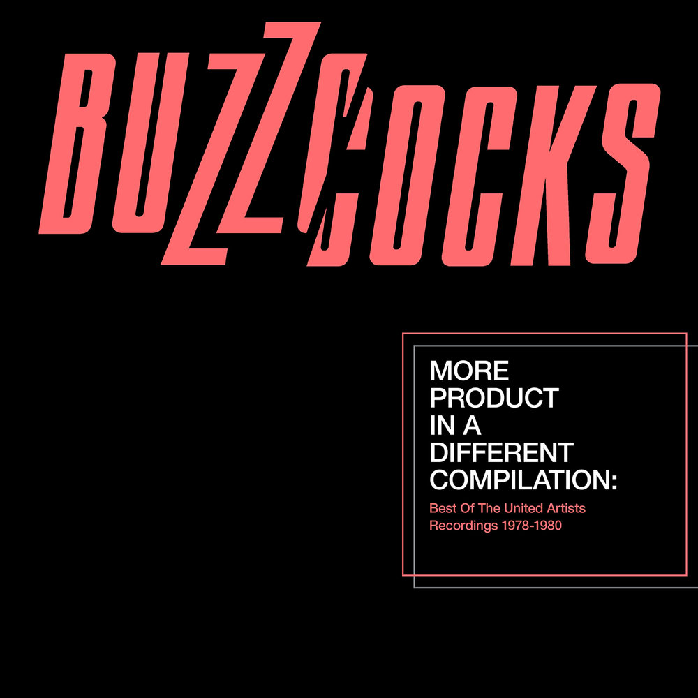 "As part of Record Store Day 2016, The Buzzcocks' collection of United Artists tracks,  More Product In A Different Compilation  was released on vinyl. The release is courtesy of ORG Music.  The 2xLP set covers the ""short time span between 1978 and 1980, when the band released three albums and some thirteen singles. Nearly every single A-side is included here, along with an array of B-sides (which oftentimes matched their counterparts) and indispensable album tracks.""  The pressing is limited to 3,000 copies on orange vinyl."