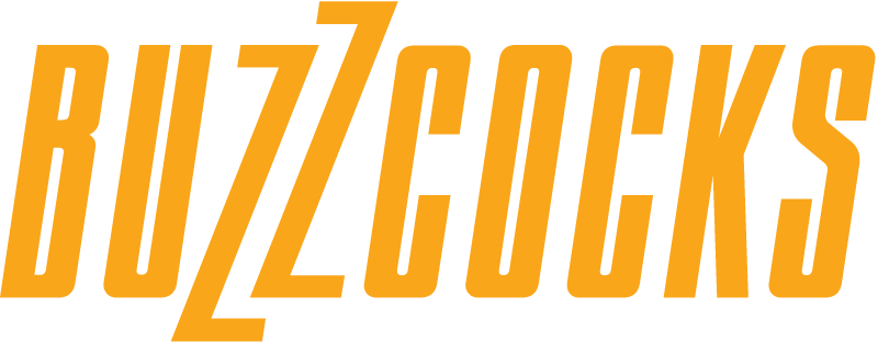 Buzzcocks logo 5120x2000px PNG file + EPS vector format