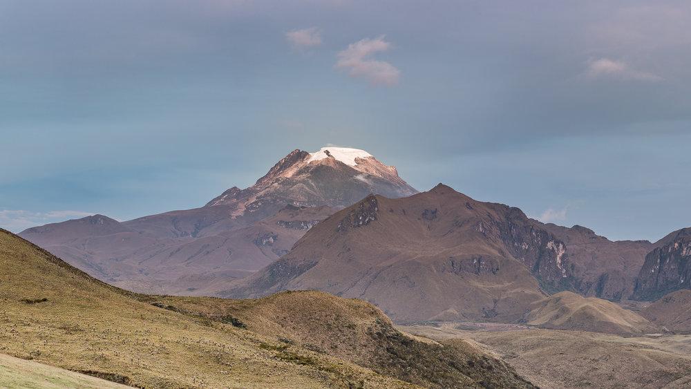 Panoramica Nevado del Tolima