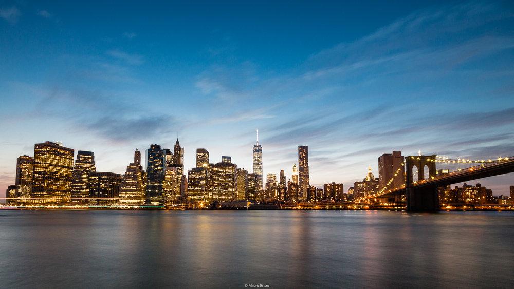 New York- Blue Hour