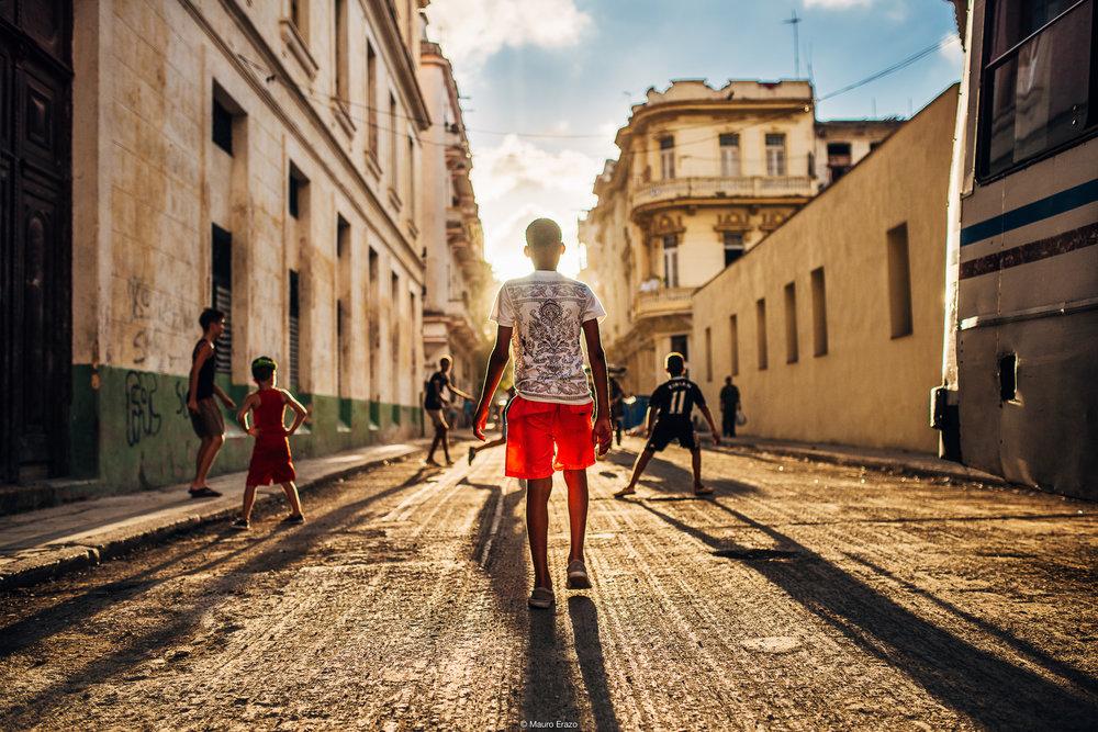Infancia en Cuba