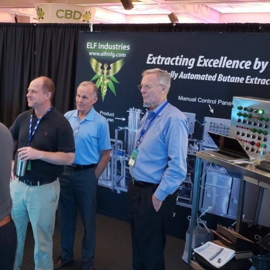 Met some great folks yesterday, we're still here until 6:00 today.  Come by and see us. #greenongreenwood #oklahomacannabisindustry #oklahomacannabis . . . . #ElfExtraction #ElfMfg #butane #madeinamerica #Holos20 #Extractor #Accurate #ASME #PSIreviewed #butaneextraction #CBDextraction #botanicalextraction #extractionequipment #BHO