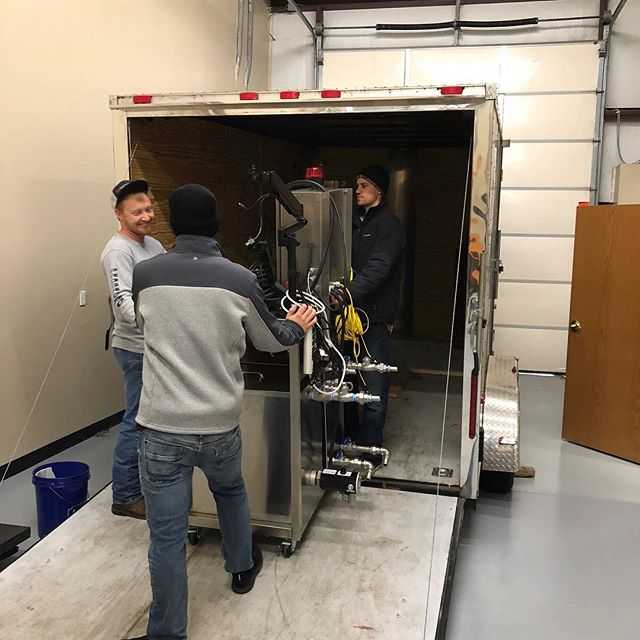 It's always super exciting to see a unit head out the door.  Can't wait to hear about the amazing products our clients are creating! 🍁 . . . . . #ElfExtraction #ElfMfg #butane #madeinamerica #Holos20 #Extractor #Accurate #ASME #PSIreviewed #butaneextraction #CBDextraction #botanicalextraction #extractionequipment #BHO #holosbotanica