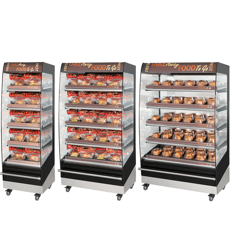Fri-Jado Multideck 5 level Merchandisers