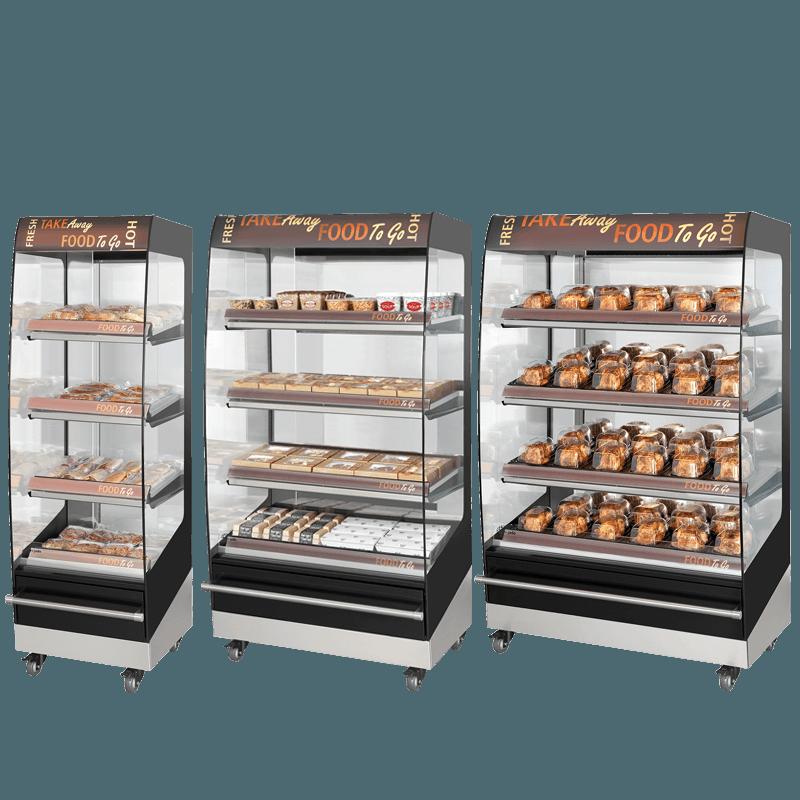 Fri-Jado Multideck 4 level Merchandisers