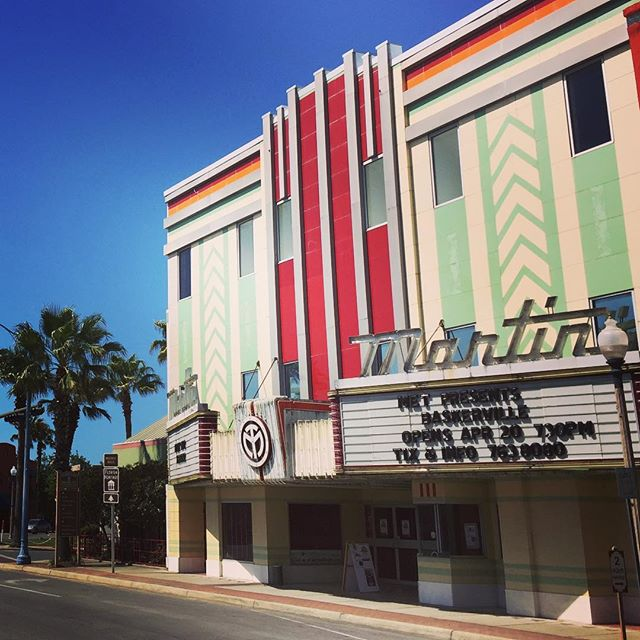 Beautiful day in Downtown Panama City! #artdeco #theatre #downtownpanamacity