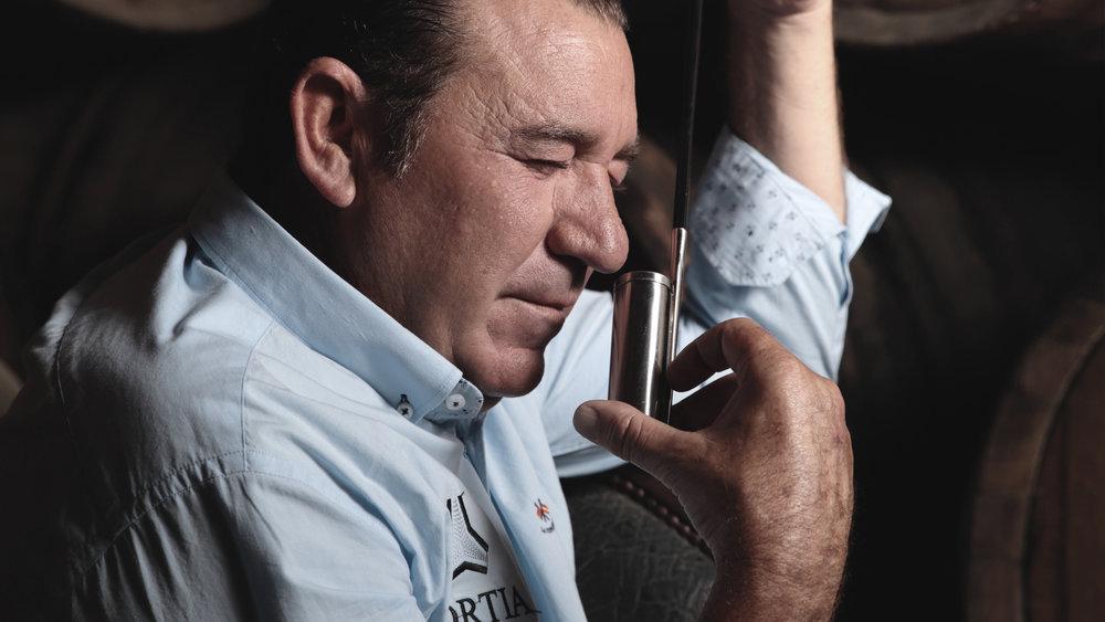 Antonio Pacheco Garrido sumiller nariz de oro bodegas ronda Malaga  Sr Erreka commercial filmmaker photographer.jpg