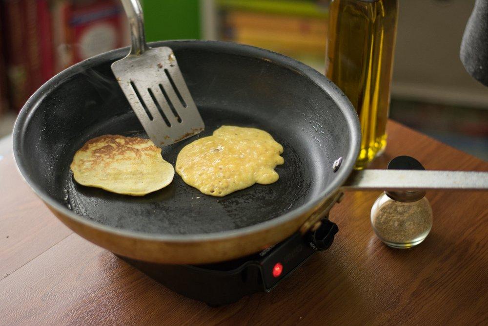 How to Make Banana Pancakes by Chef Ayo