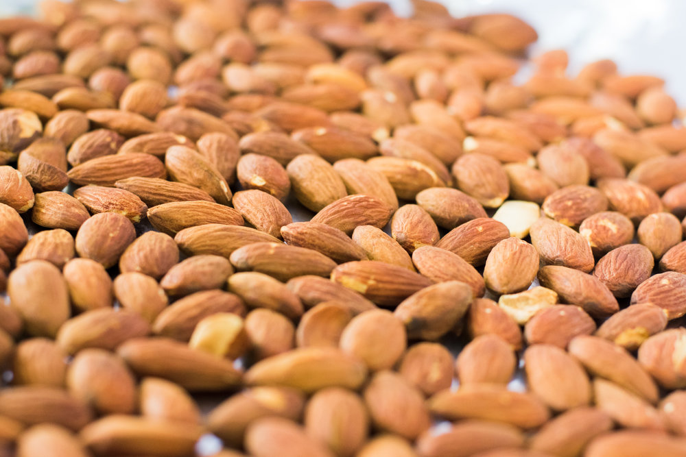 Toasted Almonds by Chef Ayo