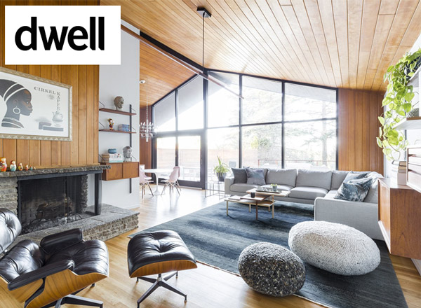 SMG Collective poufs featured in Dwell Magazine article