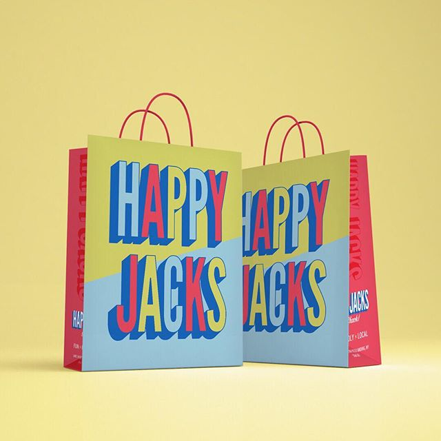 💥New bag alert💥With a new logo, a new bag design was a must! Keep your eyes out for these when you're out and about in Bolton Landing! 🛍 . . . #shoppingbag #happyjacks #boltonlanding