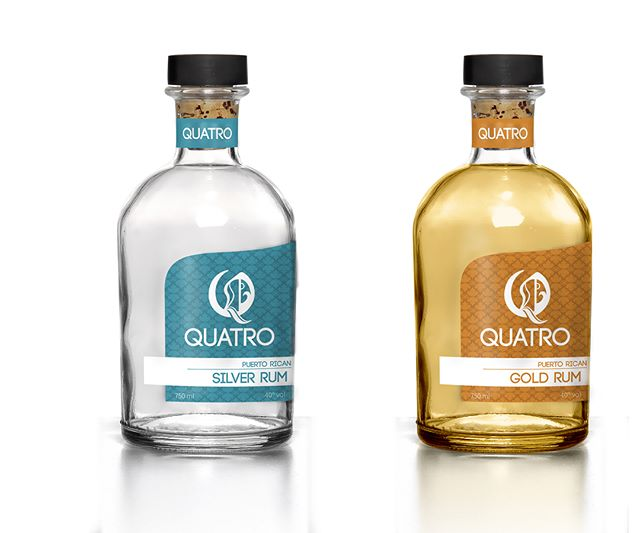A Rum for Each Season, QUATRO. . . . . . #graphicdesign #packagedesign #branding #student #rum #puertorico #quatro