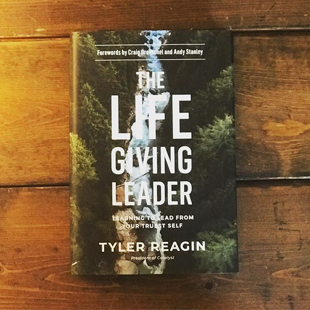 Monday we will be hosting Tyler Reagin where he will be talking about being a life giving leader. On top of that we will have his new book 'The Life Giving Leader' available! Come see what it's all about Monday at noon. Register online at www.nechristian.edu/institute