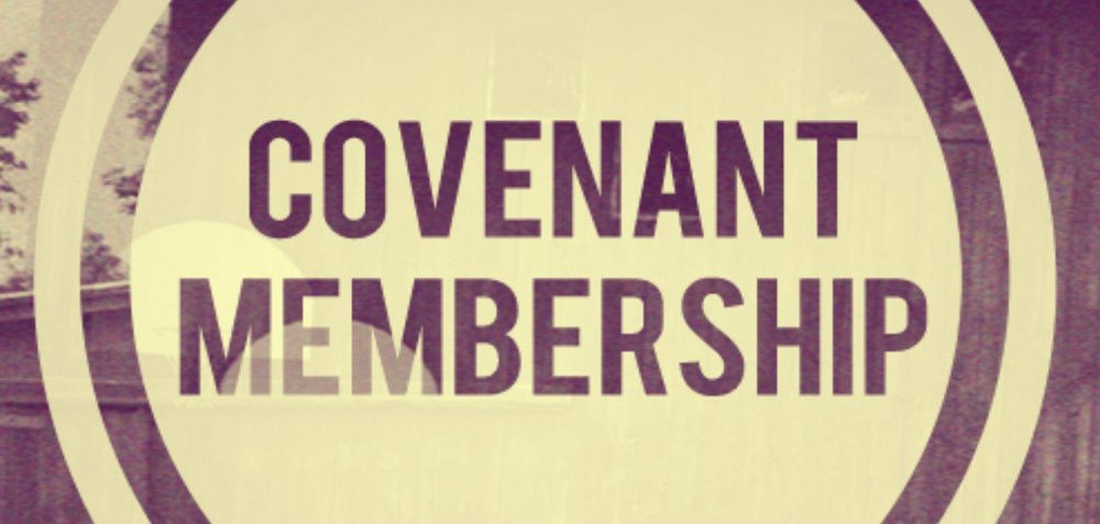 We begin each member's meeting reading our member's covenant out loud and together to remind ourselves who we are, what we are, and that we are in covenant relationship with God and each other.