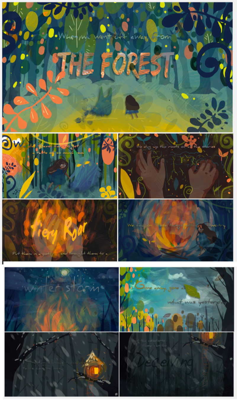 The Forest   Concept Style Frames  2017