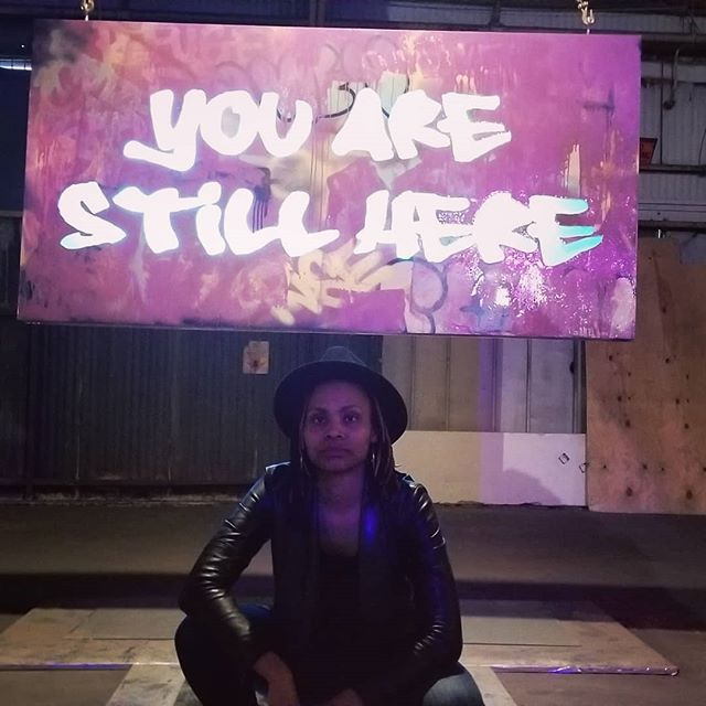 I have avoided staying long enough in anything to take root the way my bout with depression did 10 years ago. Now I'm in a space that's thick with the story of survival and the choice to rebirth, the story of you are still here. #StudioBE