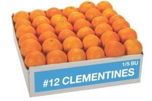 Clementines 8-10 lb box- Item #12