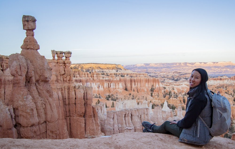 Hiking down into this amphitheater in Bryce Canyon was exhilarating.  Photo by Ben Travis .