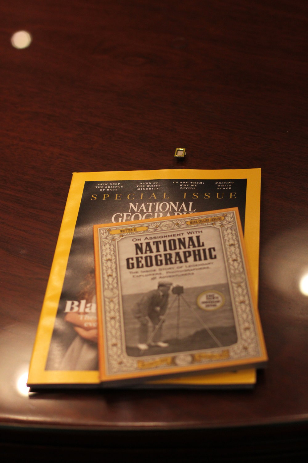 Have you read National Geographic? Photo by Alison Travis