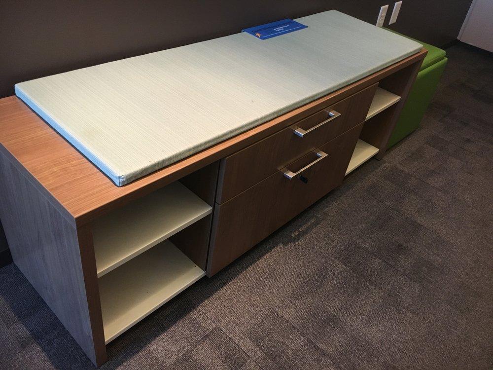 Adjustable Height Desk Office Set