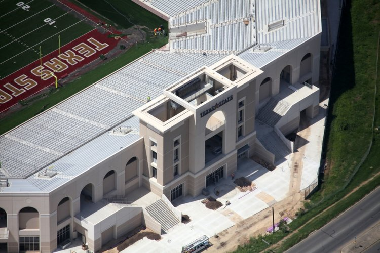 Texas State University Bobcat Stadium Ballparchitecture