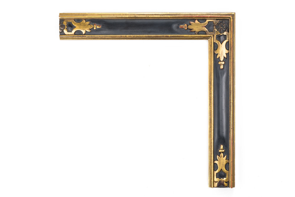 "Spanish Provincial Cassetta  2 1/4"" Spanish cassetta, hand-carved corners, Provincial Spanish influences"