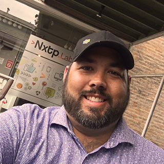 J. Ryan Williams #Selfie at NXTP.Labs office