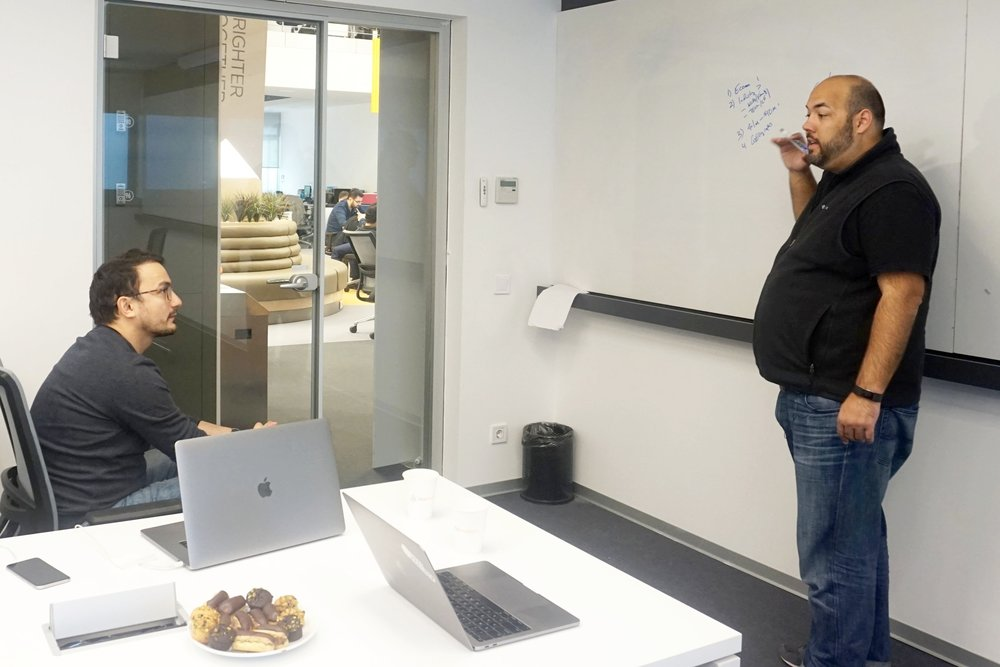 One-on-One coaching session for a founder in Turkey's Innogate Accelerator.