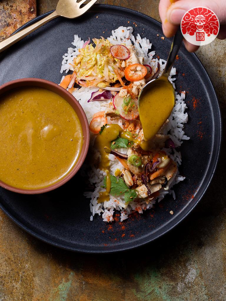 BaoBun Restaurant - Katsu Curry Rice Combo