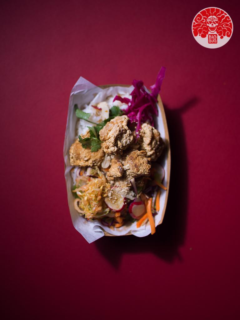 BaoBun Restaurant - Popcorn Chicken Combo