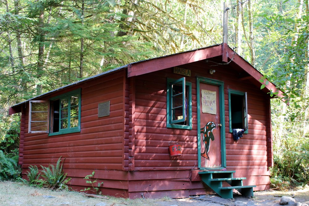 You'll be crashing in vintage rustic cedar cabins that sleep 12 (6 bunk beds)this will be where you'll meet your new besties (aka bunkmates). -