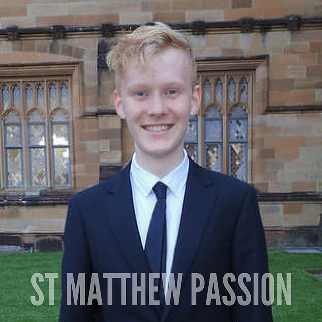 Introducing JACK STEPHENS, singing the role of High Priest I in ST MATTHEW PASSION: two shows only this weekend! Swipe for more info. ✨ #meettheartists #operanticspresents #StMatthewPassion #Bach #ByArtistsForArtists #whatson #sydneymusic #oratorio #TakeMeToChurch