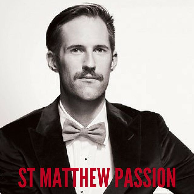 SPENCER DARBY returns to sing with Operantics in ST MATTHEW PASSION: two shows only this weekend! Swipe for more info. ✨ #meettheartists #operanticspresents #StMatthewPassion #Bach #ByArtistsForArtists #whatson #sydneymusic #oratorio