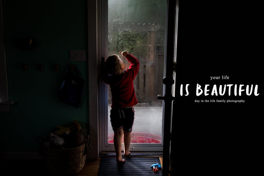 day in the life family portraits by documentary family photographer Anna Nodolf