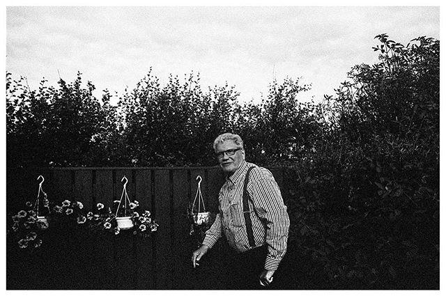 Oli's pappa.  Reykjavik. 2015