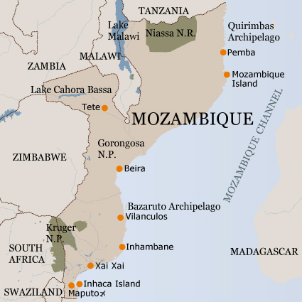 Mozambique Private Safaris