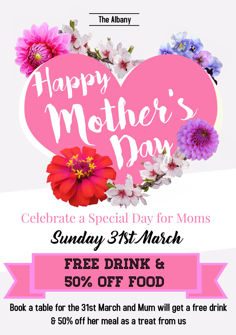 Say thanks to Mum by giving her a treat that she really deserves this Mother's Day. -