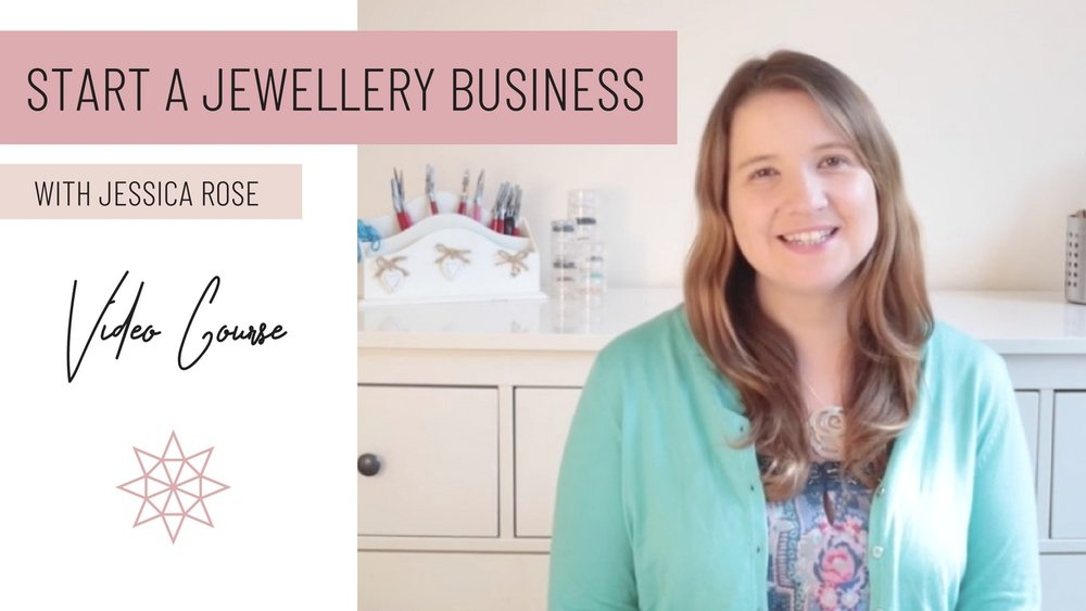 - Just starting out, try our FREE 3-part video series on how to start your jewellery business.