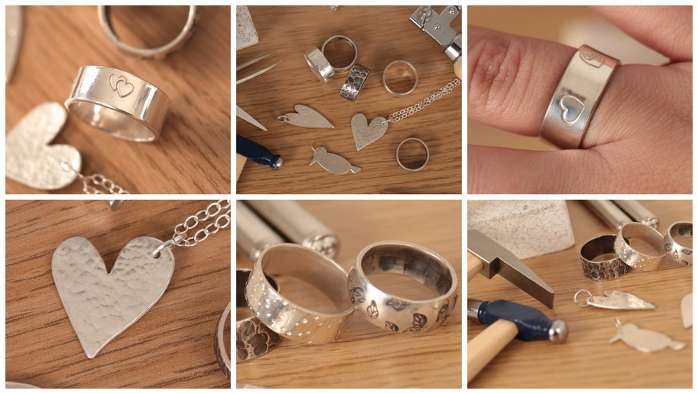 The Silver Jewellery Workshop Examples
