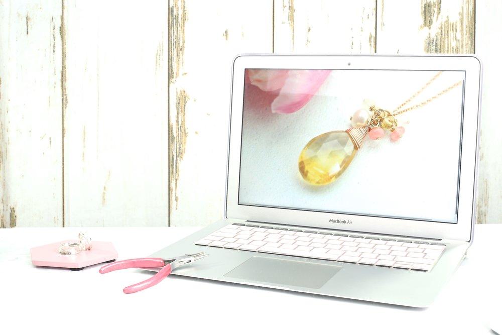 Create a jewellery business website