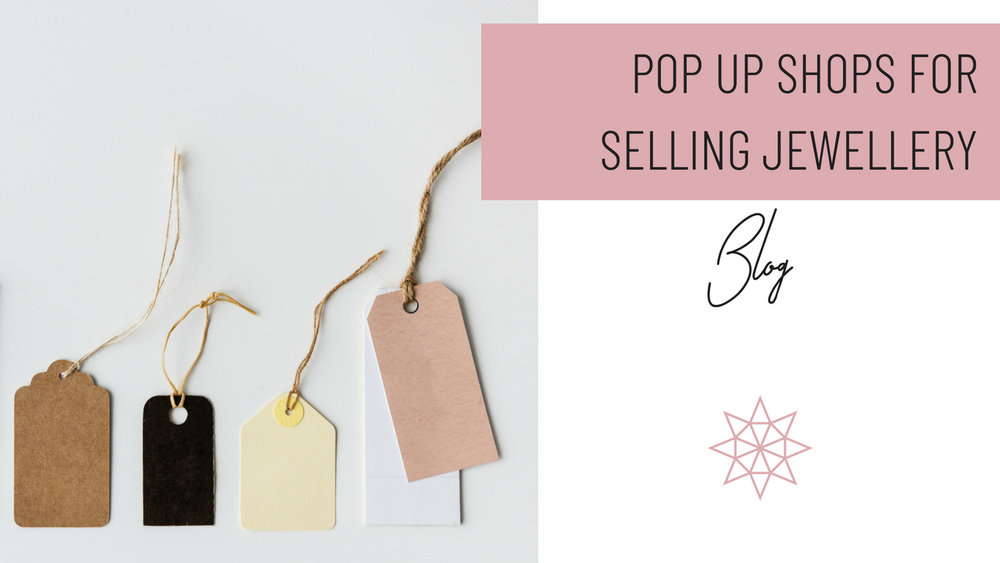 Pop Up Shops for Selling Jewellery Header