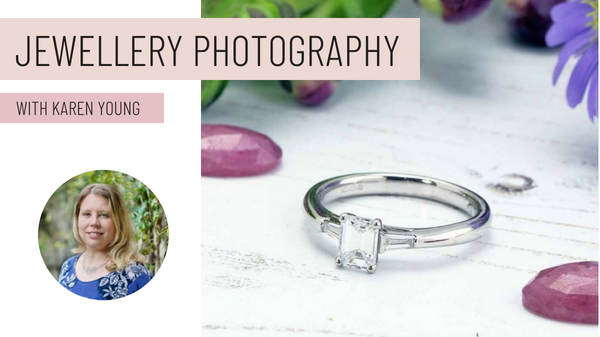 - Learn to take professional photos of your jewellery at home in this in-depth online course.