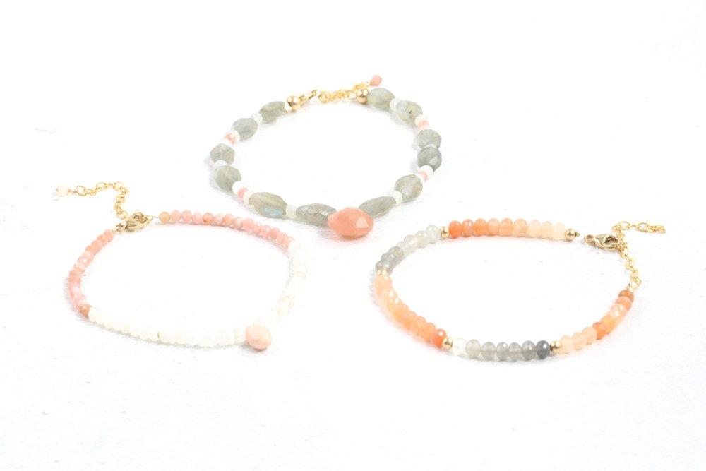 Gemstone bracelets Jessica Rose