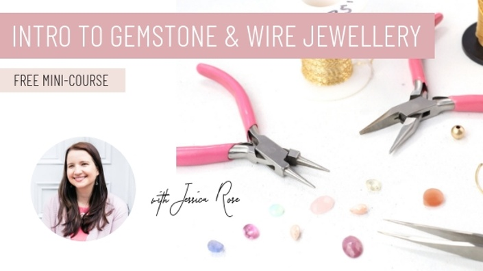Intro to gemstone and wire jewellery jewellers academy