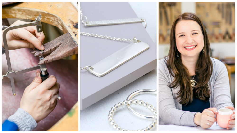 free absolute beginners silver course with jessica rose jewellers academy
