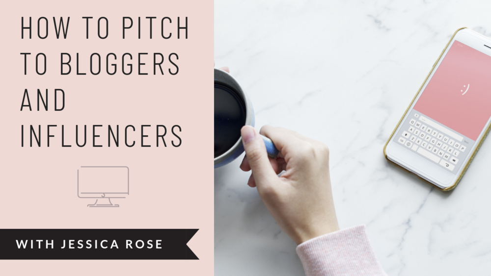how to pitch to bloggers and influencers