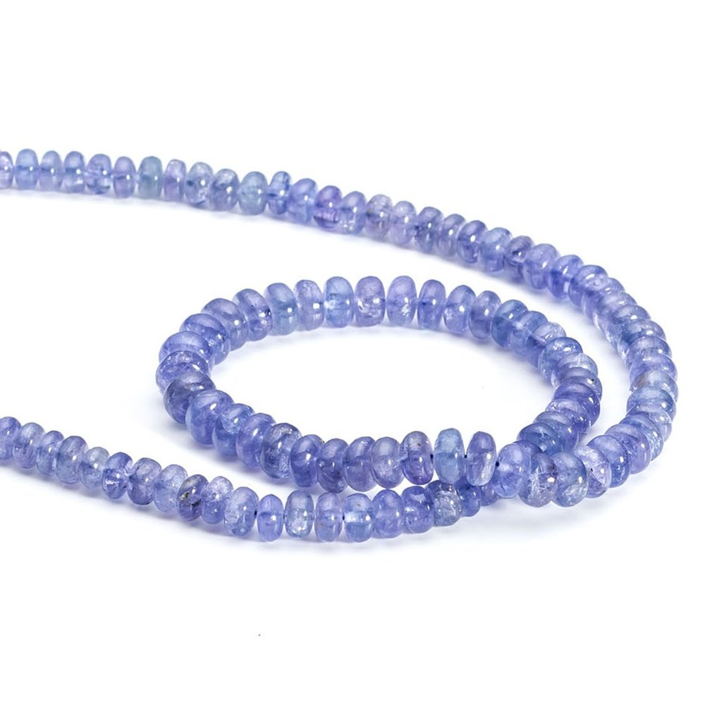 tanzanite beads from Kernowcraft