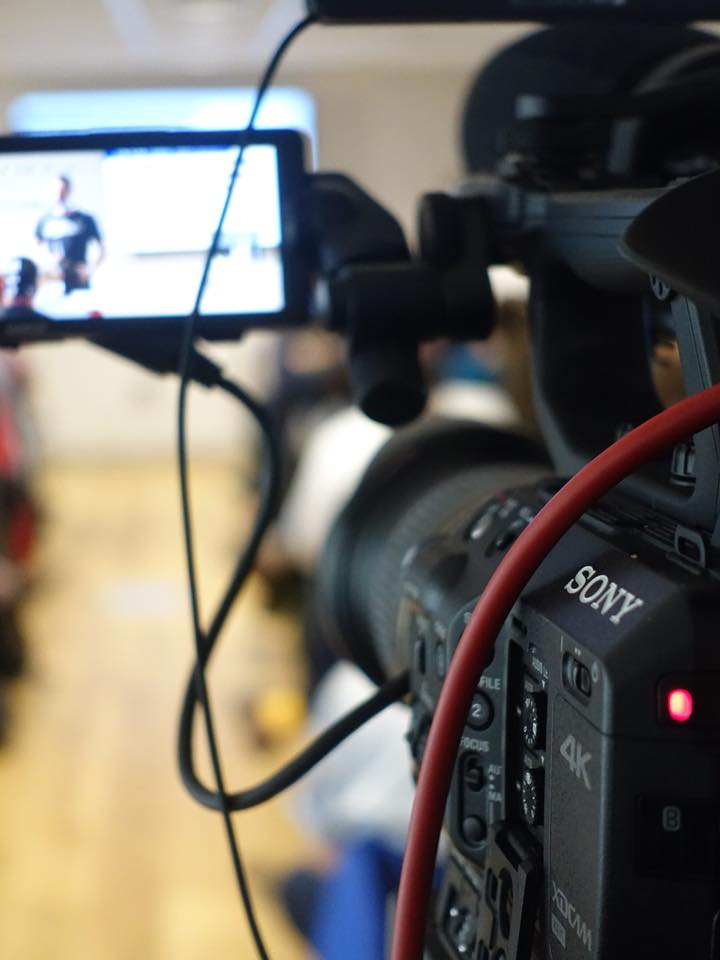 Cheltenham event filming