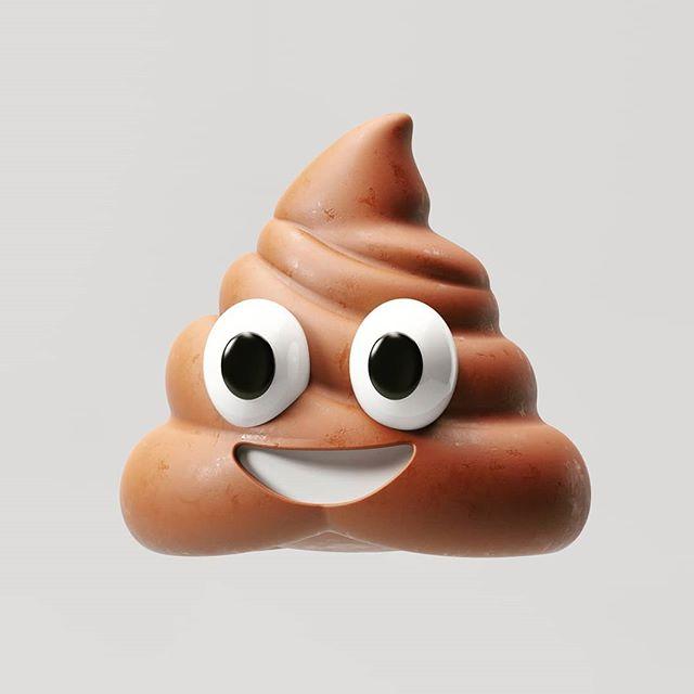 Emojshit. ♥️ #c4d #emoji #redshift